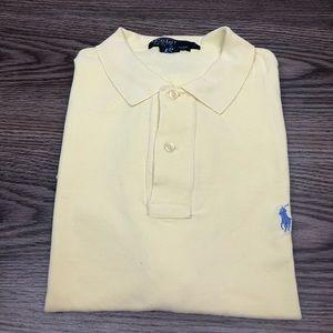 Polo Ralph Lauren Yellow Polo Shirt L